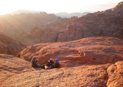 Pause der Bergführer