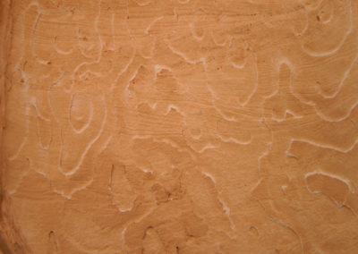 Strukturen und Farben im Sandstein